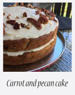 Carrot & Pecan Cake